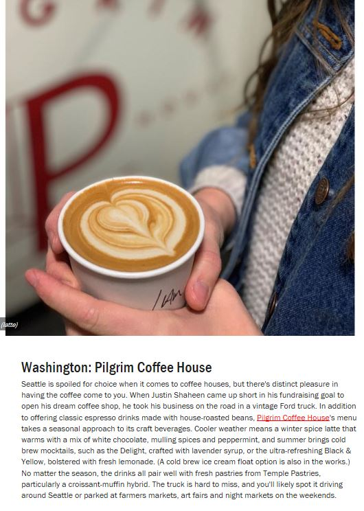 Pilgrim Food Network Spotlight