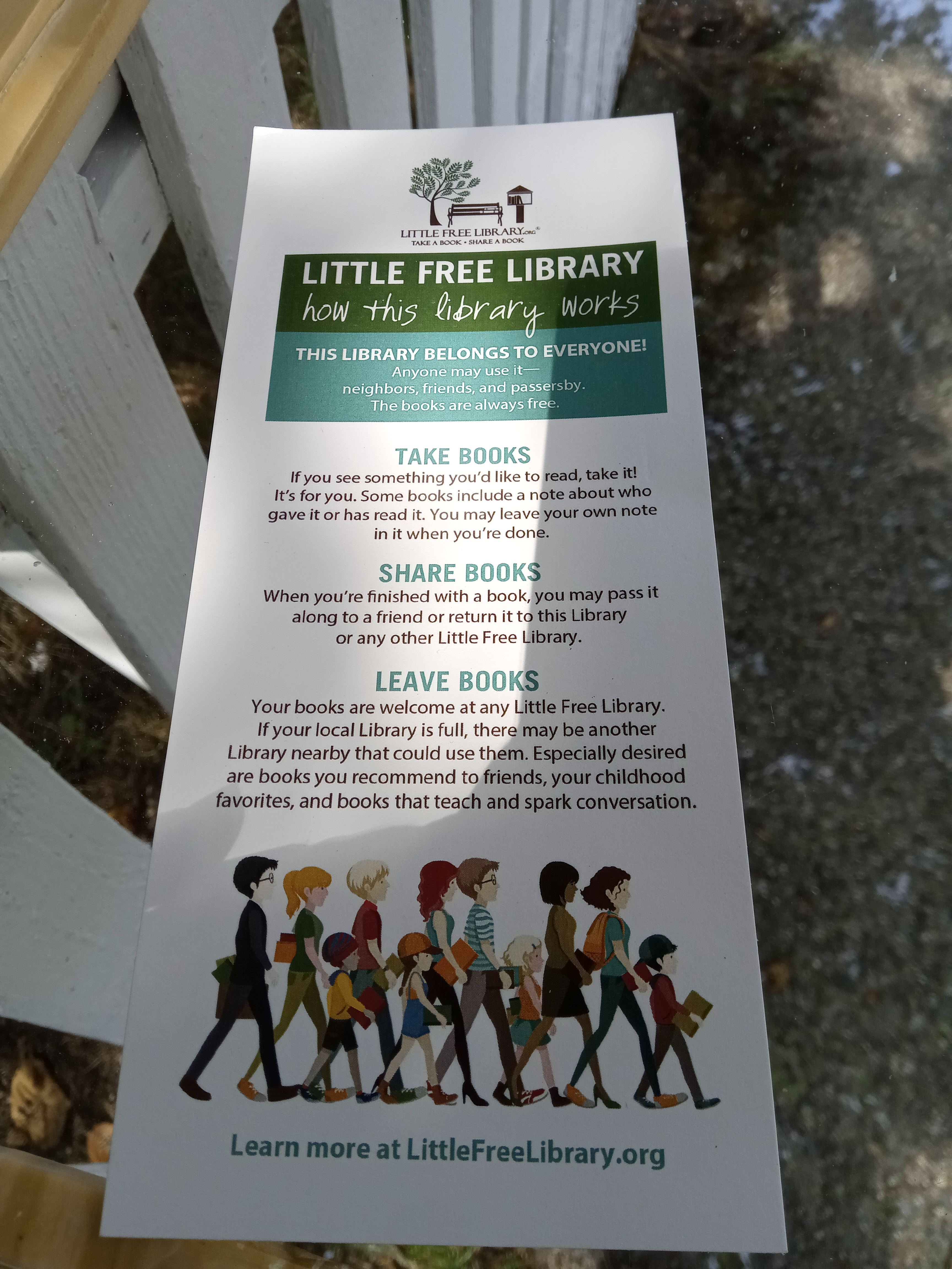 More About Little Free Librarys