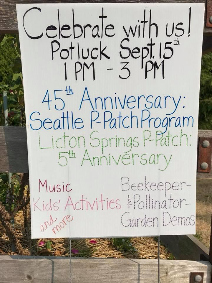 P-Patch 5th Anniversary Party!