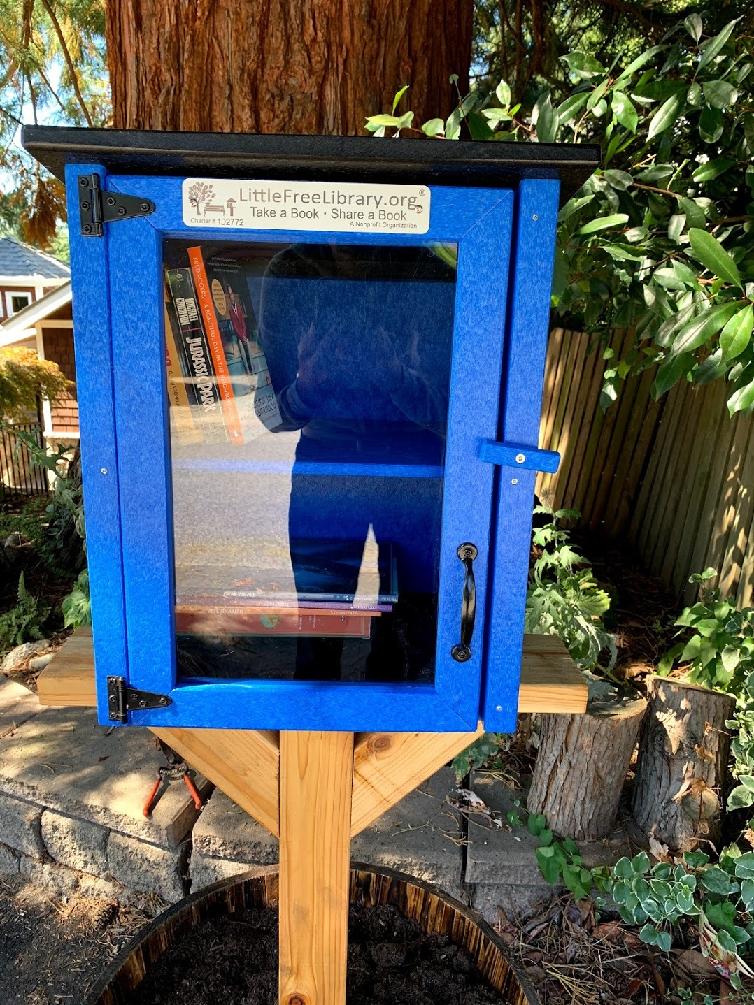 Little Free Library at 89th and Meridian