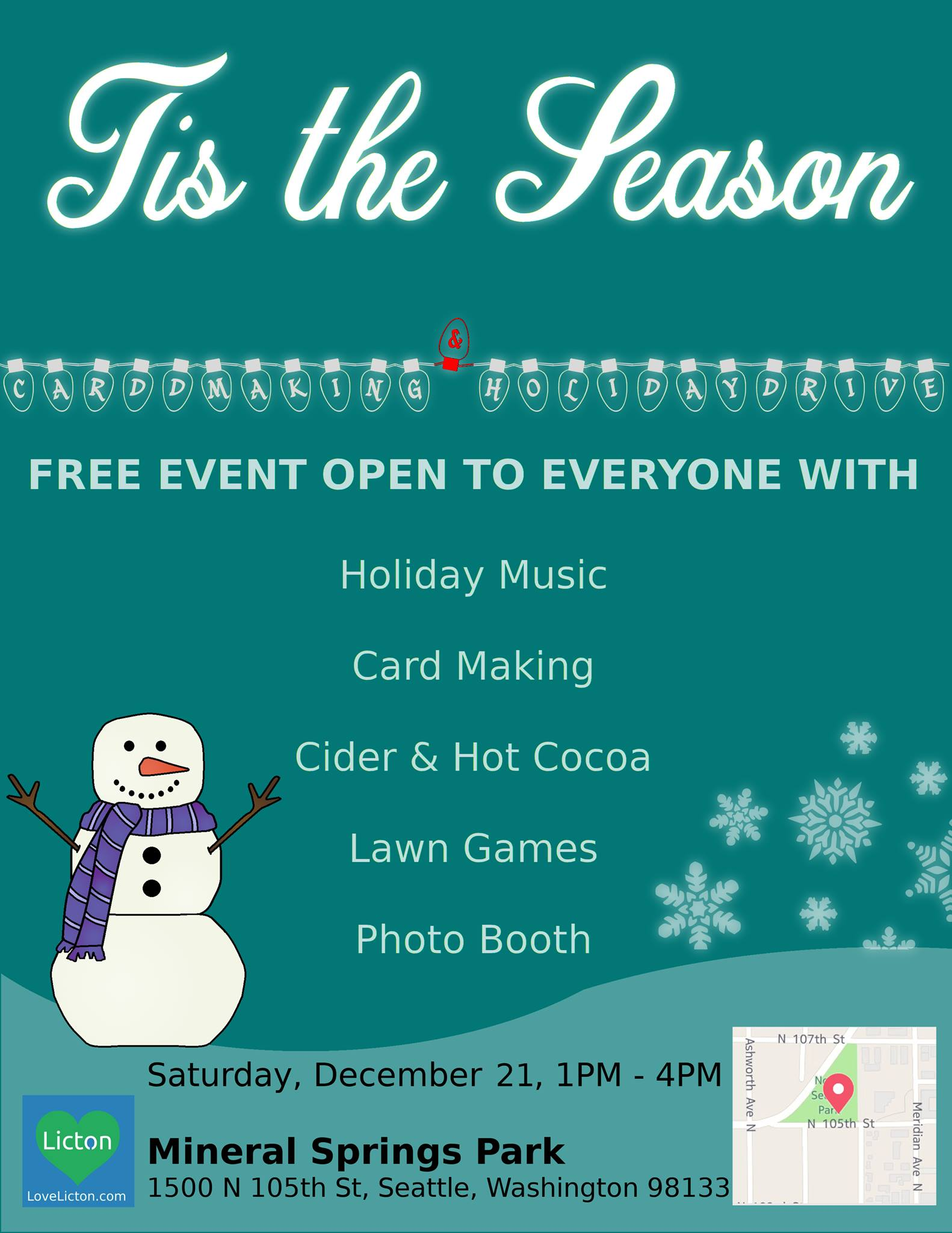 Tis The Season Mineral Springs Park Event 2019