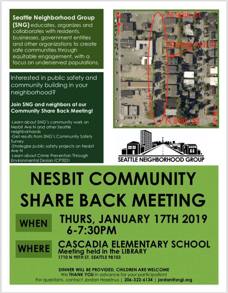 Nesbit Meeting