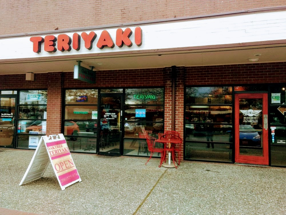 Oak Tree Teriyaki Store Front